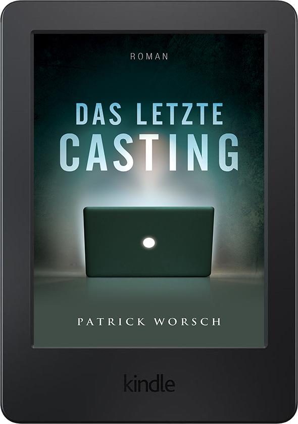Das letzte Casting - Cover am eReader